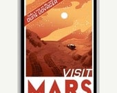 20% OFF Visit Mars Space Poster