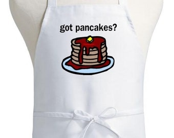 novelty cooking aprons got pancakes funny kitchen apron - Cooking Aprons