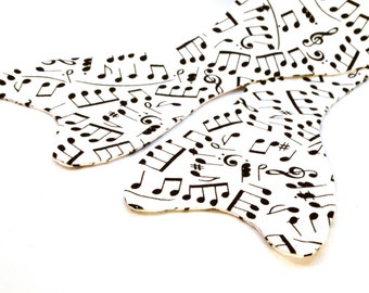 Men's Musical Notes Bow Tie