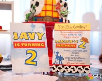 Toy Inspired Invitation