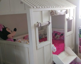 Kids beach house bed, Kids furniture