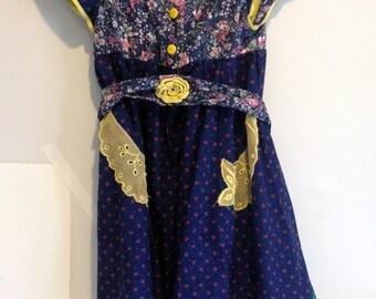 Beautiful, handmade, vintage, child's dress