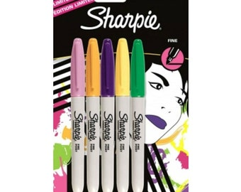 Sharpie 80's glam fine point limited edition markers