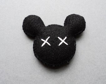 Funny Mouse Catnip Toys! Hand-Sewn and Made with 100% Organic Catnip! Treat Your Cat to a Dead Mickey! Enjoy!