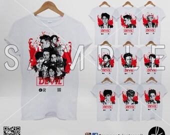 Super Junior Devil Tshirt