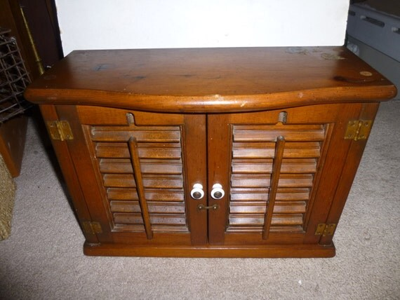 Funky Wood Cabinet With Adjustable Vented Doors Charming And