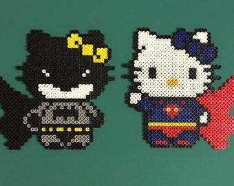 Hello Kitty Hero Perler