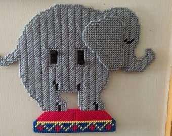 Circus Elephant Lightswitch Cover