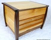 Maple 4 compartment Jewelry Box
