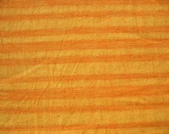Khadi Fabric Yarn Dyed Striped Cotton Fabric Hand woven fabric, Handloom fabric by the yard