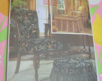 Simplicity 5085 ShowHouse Federal Victorian 5085 Slipcovers Sewing Pattern - UNCUT