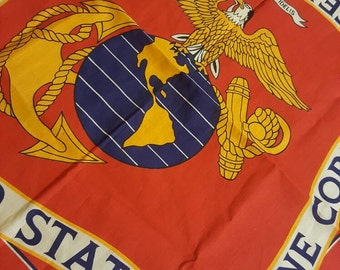 USMC Bandana, wall hanging