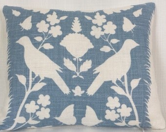 F. Schumacher Chenanceau Pillow White Down and Feather Baby or Boudoir Pillow