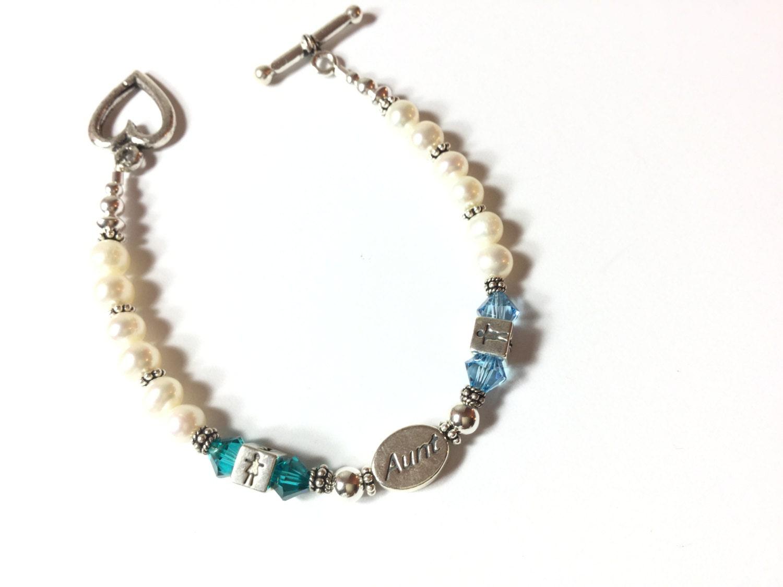 Aunt Bracelet, Aunt Gift, Auntie Bracelet, Aunt Jewelry, Niece Bracelet, Nephew Bracelet, Niece Jewelry, Nephew Jewelry, Aunt Family jewelry