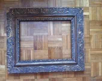old vintage frame 58 x 48 cm