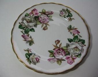 Rosina Bone China England Magnolia Plate