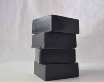 Activated Charcoal Goat Milk Soap, Black Soap, Charcoal Soap, Goat Milk
