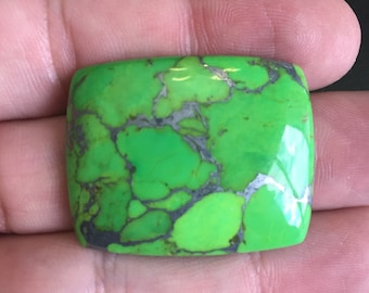 Mohave Green Turquoise Cabochon