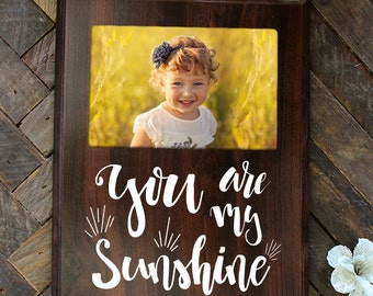 You Are My Sunshine Picture Frame Nursery Gift Baby Shower Gift Kids Bedroom Decor
