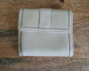 Coach White Leather Bifold Wallet