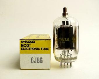 Sylvania 6JB6 vacuum tube - new old stock - original box - tested - sweep tube