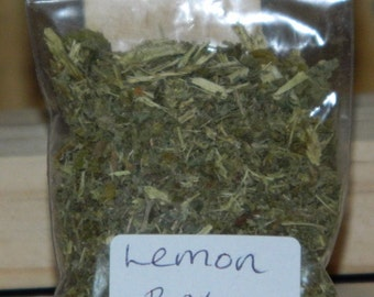 LEMON BALM  Home Grown Loose Magical & Healing Herb - Healing - Banishes Negativity - Happiness - Spells and Incense – Magic - Wicca – Pagan