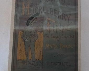 Adventures of Huckleberry Finn by Mark Twain 1st Edition Facsimile Edition Hardcover Slipcase