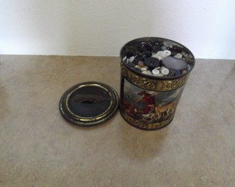 Germany Canister Filled With buttons