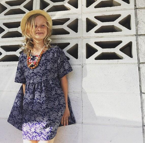Boho Dress/girls Dress/90's style/babydoll