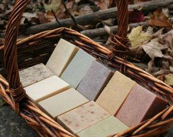 Custom Goat Milk Soap - You Choose Ingredients - Handmade to order - 24 bars - 4 oz per bar