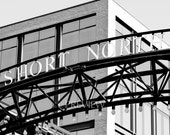 Columbus Ohio Photography, High Street Photo Black and White Short North Arches Urban Hipster Art Modern Hip Print Restaurant Hotel City Art