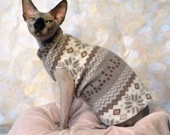 sphynx sweater