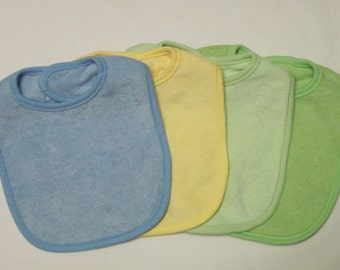 BE THE FIRST - Super Set of 4 Baby Bibs for that Handsome Little Fellow