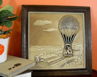 Hot Air Balloon Relief // Miller Studios no. 605