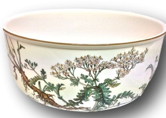 Villeroy and Boch BOTANICA Round Vegetable Bowl 8 Inch