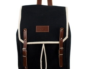 Ahoy Levanto Backpack. Mediterranean Inspired. Nautical bag . Men's Backpack