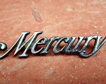 Vintage Ford Mercury Emblem 1978-1983 Part #8C0486AA