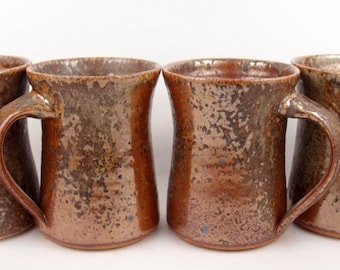 CUSTOM PRIVATE LISTING for Forbes (set of 4 mugs in copper)
