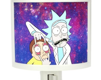 Rick and Morty Night Light bathroom hallway bedroom TAKE IT with