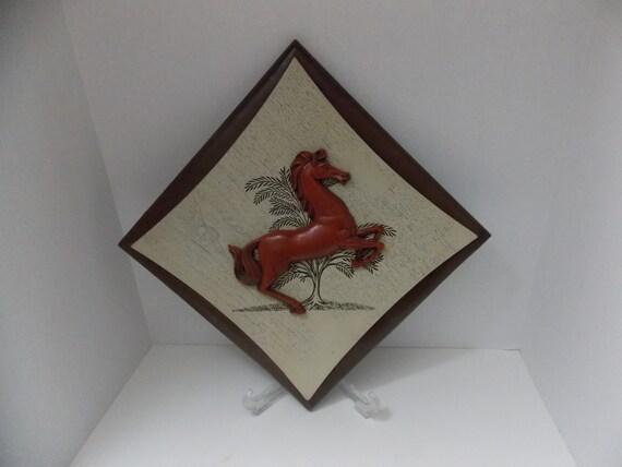 Burwood Horse Plaque Horse Wall Plaque Horse Art Wall