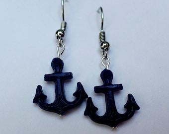 Nautical, Anchor Earrings