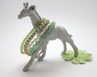 3-4mm Peridot Children's Bracelet