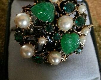 Vintage Earring Ring