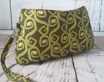 Swoon Coraline Wristlet Zippered Pouch Clutch
