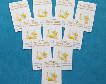 10 Tinkerbell Disney Cruise Light Card™ card key switch activators for Fish Extender Gift Pixie Dust Gift FE Gift