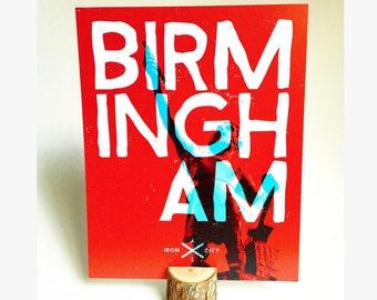 Birmingham Poster  |  Vulcan  |  Birmingham, Alabama