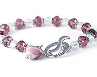 Swarovski Crystal Valentine's Bracelet