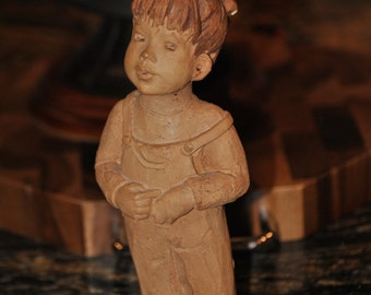 LEE BORTIN SCULPTURES - Little Girl Sculpture