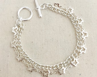 Layering Butterfly Chains
