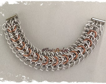 39 Chain Maille bracelet - Chainmaille bracelet